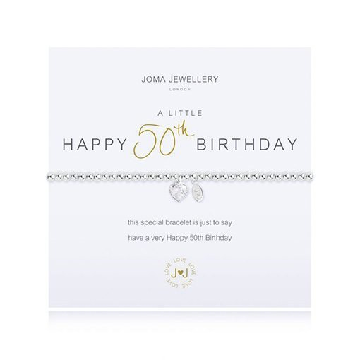 A LITTLE HAPPY 50TH BIRTHDAY