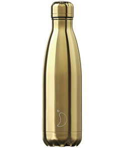 Gold Chrome Chilly's Bottle