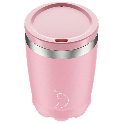 Pastel Pink 340ml Chilly's Coffee Cup
